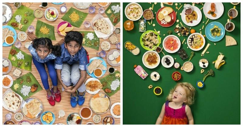 Фотопроект Грегга Милла о еженедельном рационе детей со всего света