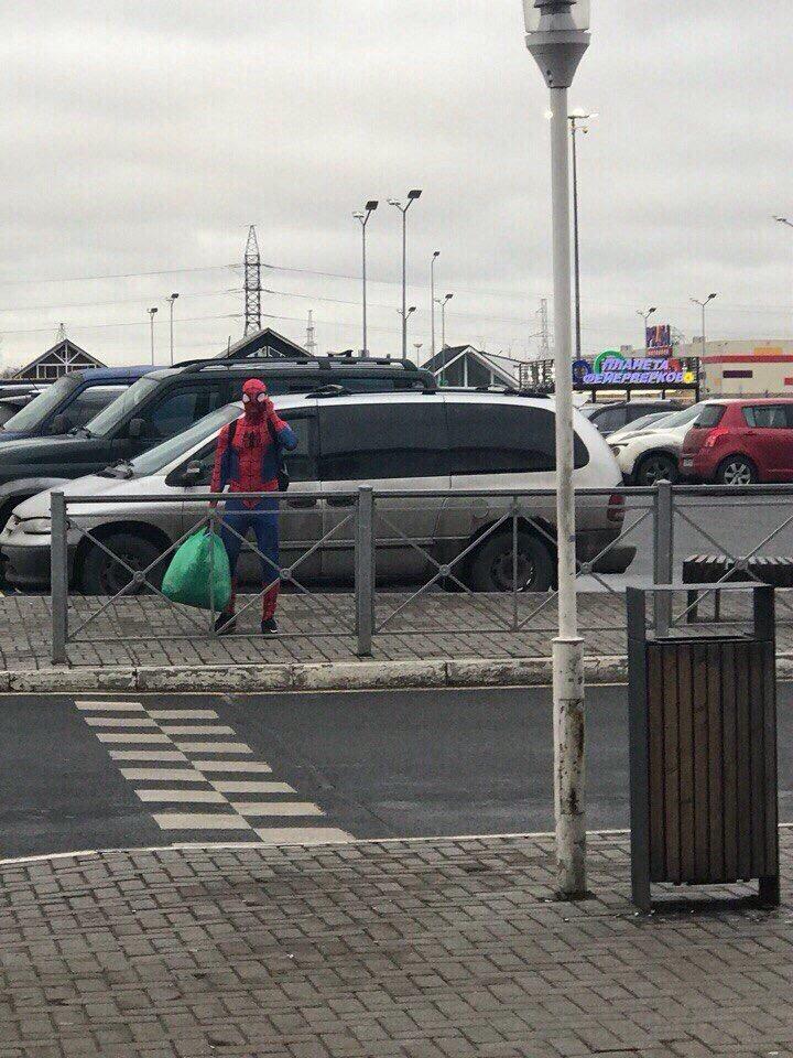 Это он у вас супергерой...
