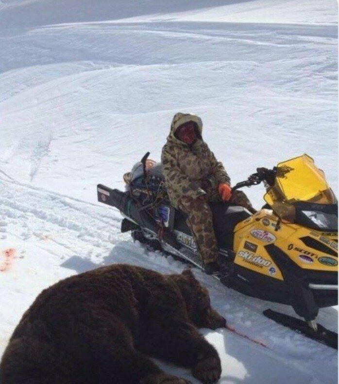Ошибка №6. Фото с охоты и рыбалки