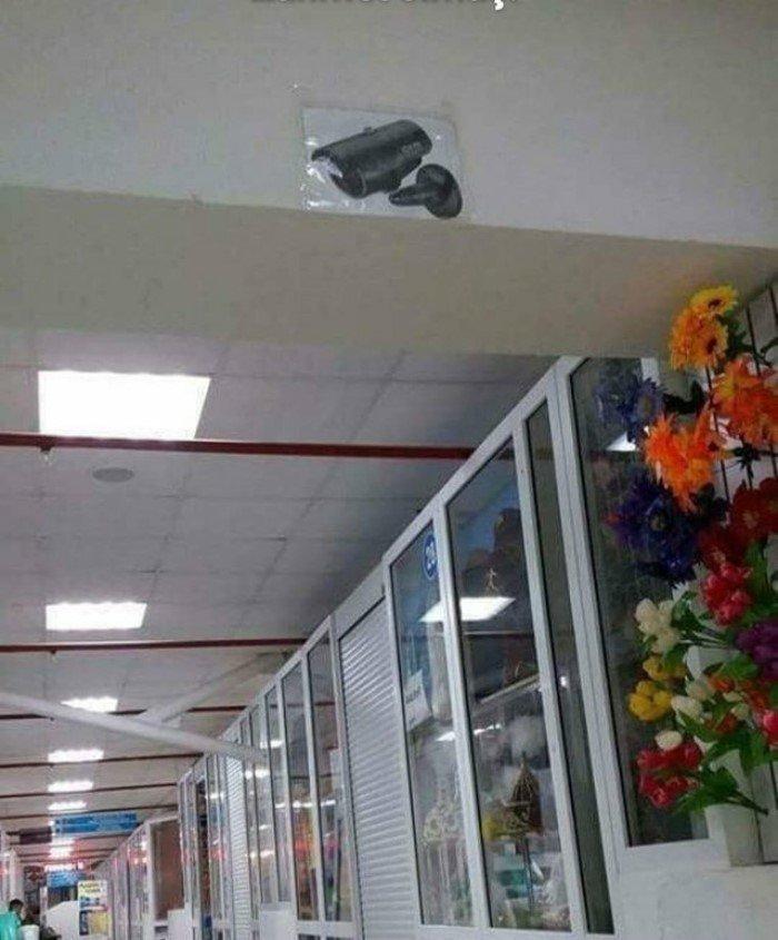 Очень скрытая камера