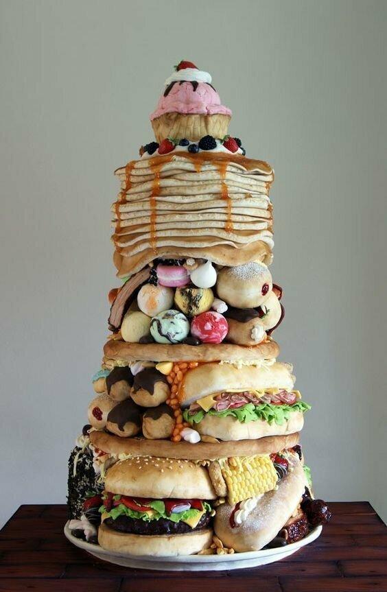 Торты, которые совсем не выглядят как торты
