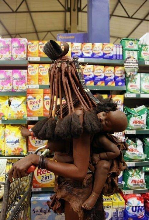 В супермаркете африка, национальные особенности, подборка, прикол, чёрный континент, юмор