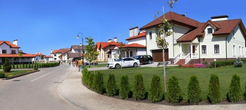 На фото реально Немецкая деревня, но в Краснодаре вранье, ложь, новости. разоблачение, соцсети, фейк