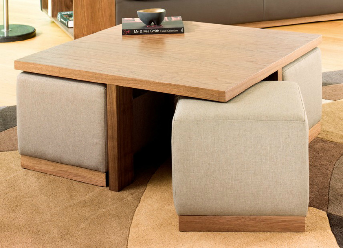 Мебель тоже бывает компактной