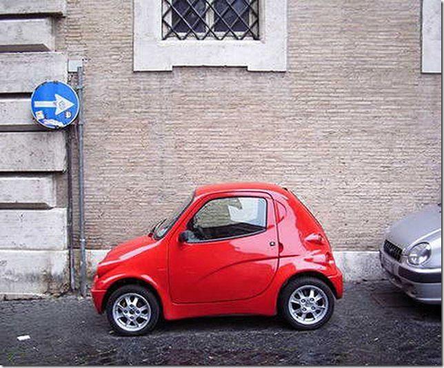 Паркуйся смело компактно, компактность, минимализм, прикол, юмор