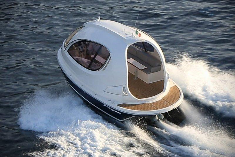 Яхта для мини-олигарха компактно, компактность, минимализм, прикол, юмор