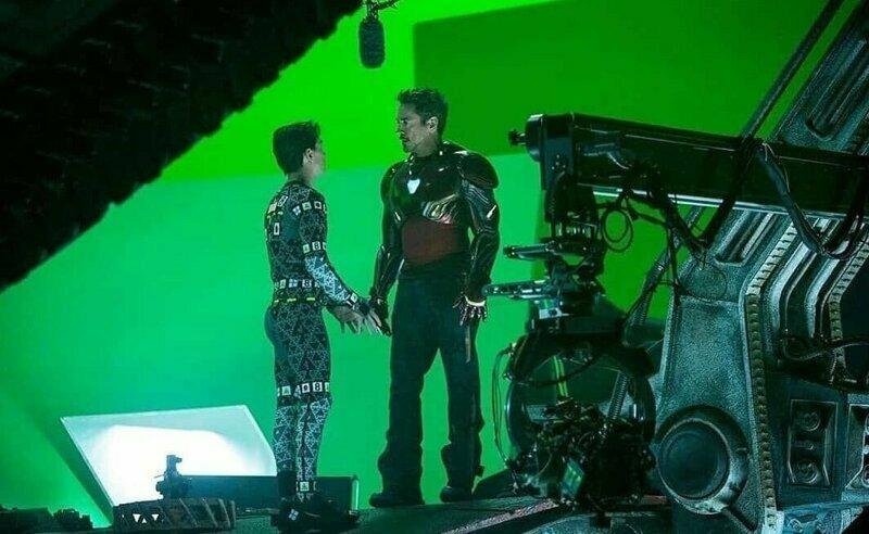 """""""Мстители: Финал"""" за кадром, закадровые фото, интересно, кино, фильмы, фото"""