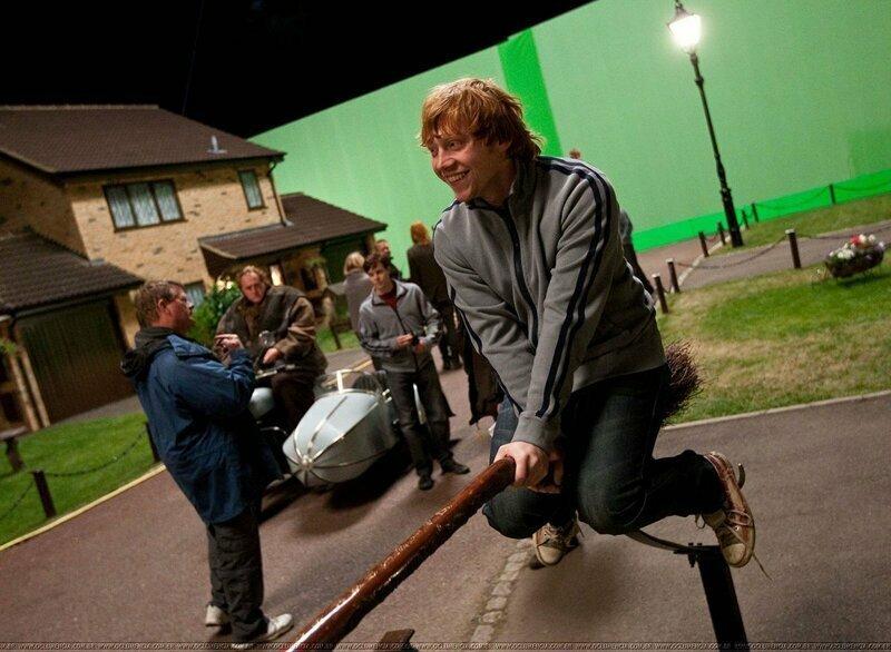 """""""Гарри Поттер"""" за кадром, закадровые фото, интересно, кино, фильмы, фото"""