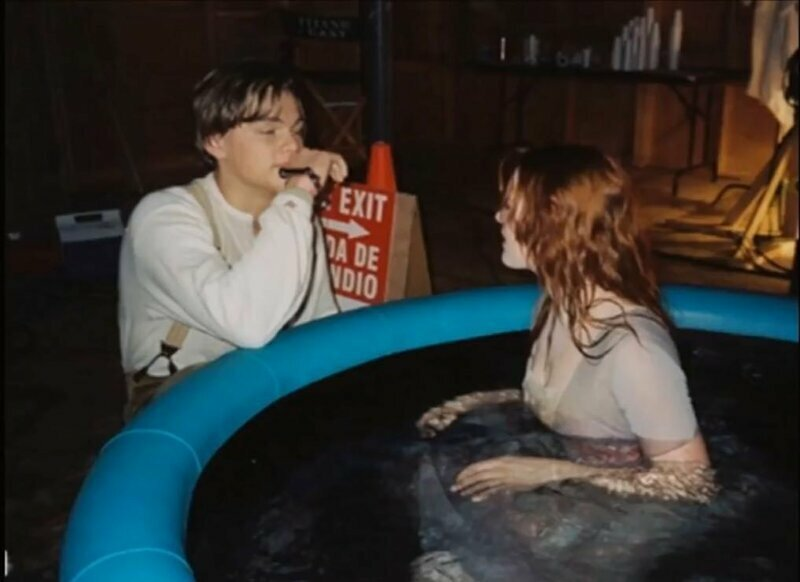 """""""Титаник"""" за кадром, закадровые фото, интересно, кино, фильмы, фото"""