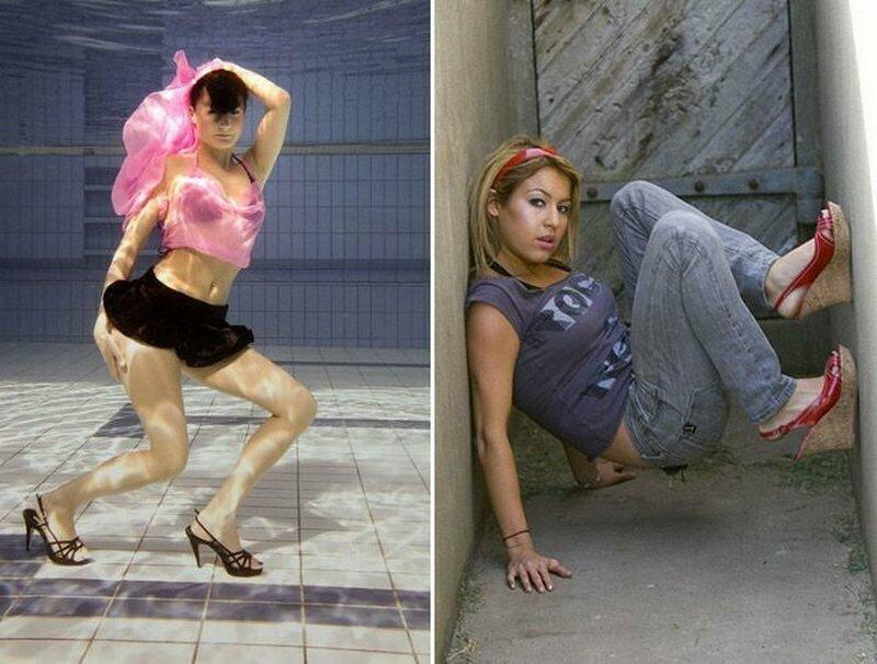 Теперь вы знаете, что делать с ногами на фотосессии забавно, модели, не надо так, подборка, позирование, позы для фото, фото, юмор