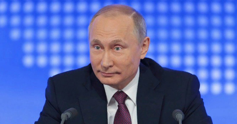Укладывая ребенка спать, не забудьте рассказать сказку про Путина