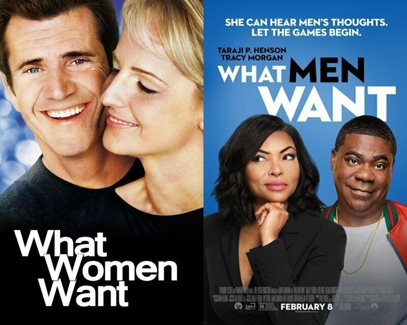Чего хотят женщины/Чего хотят мужчины 2000/2019 аладдин, детские игры, дисней, история игрушек, кино, король лев, люди в чёрном, мультики
