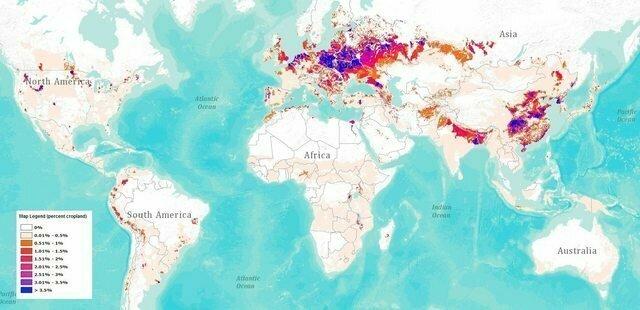 Процент посевных площадей отданных под картофель. Попробуйте найти Белорусь