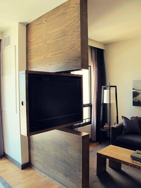 Телевизор как часть интерьера