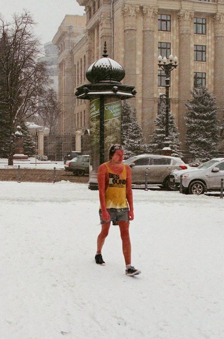 Раздетым в зиму - классика жанра