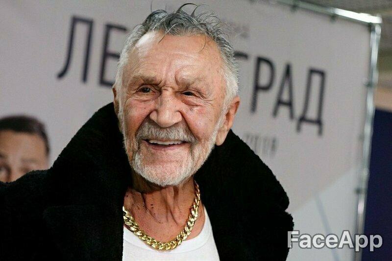 Сергей Шнуров получился задорным старичком