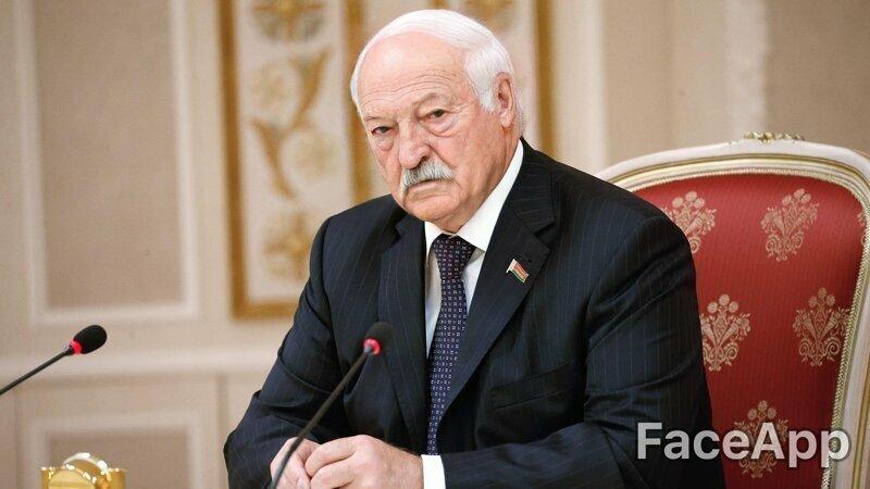 Лукашенко, кстати, не сильно изменился