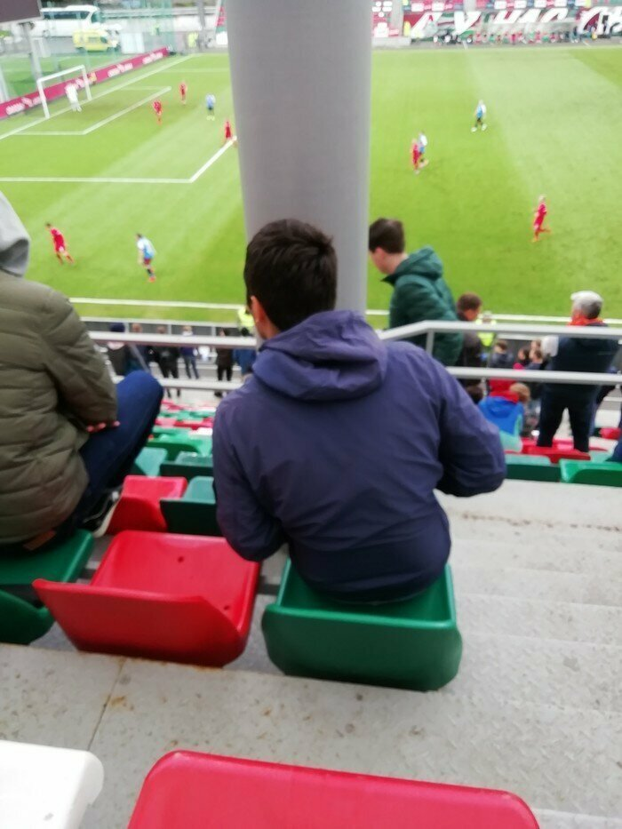 Лучшие места на стадионах