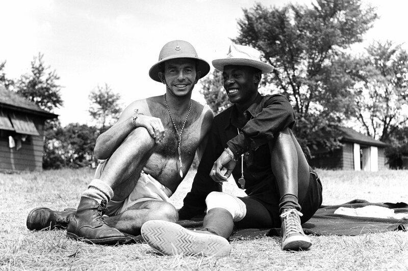 Сотрудники лагеря Генри, Нью-Йорк, 1948 г.