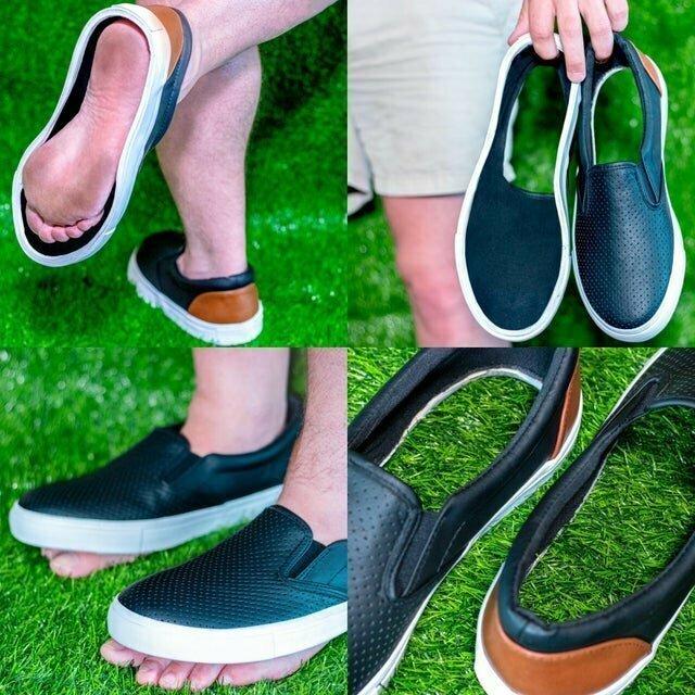 Обувь, чтобы ходить по траве и чувствовать ее мягкость