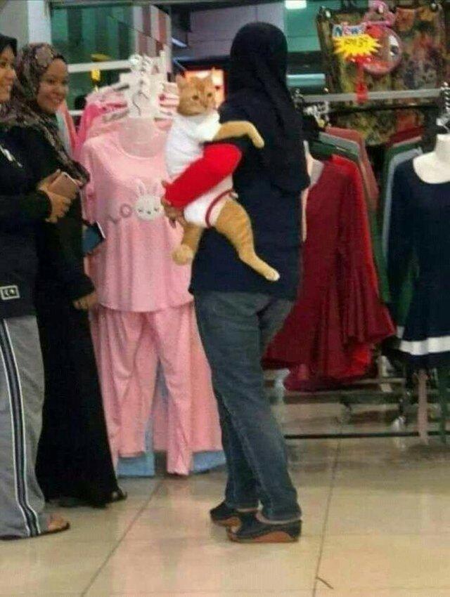 Шопинг с ребенком