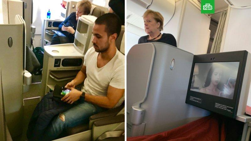 Как вам полететь с Ангелой Меркель?