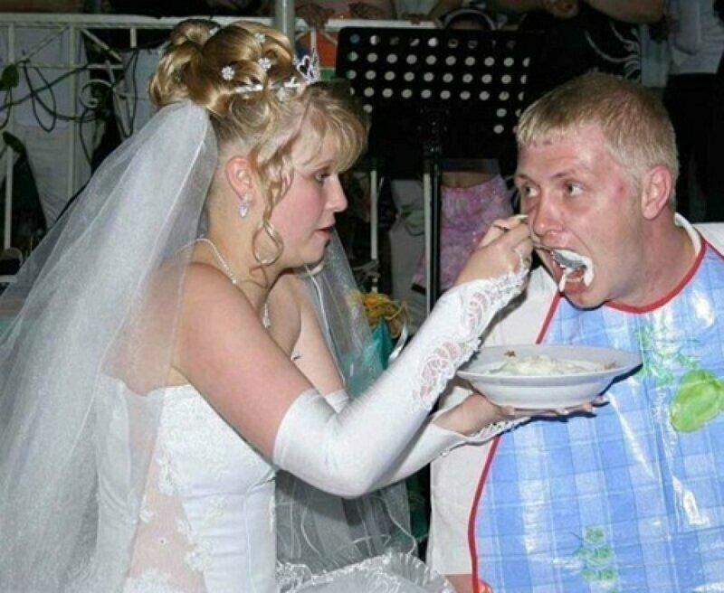 фото самых пьяных невест большинство