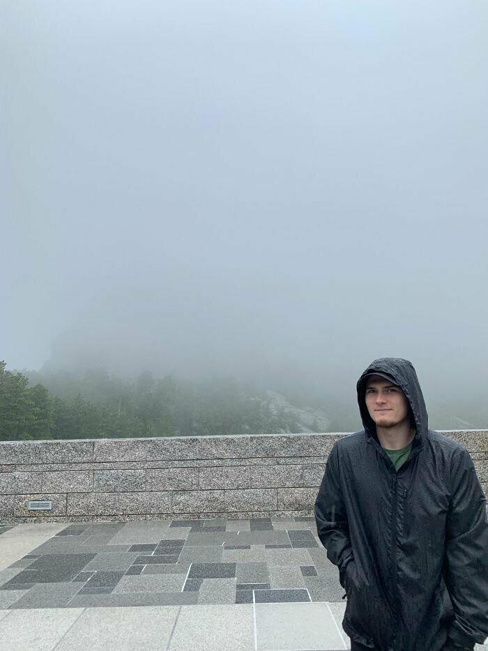 """""""Я сделал крюк на 1,5 часа, чтобы увидеть монумент на горе Рашмор"""""""