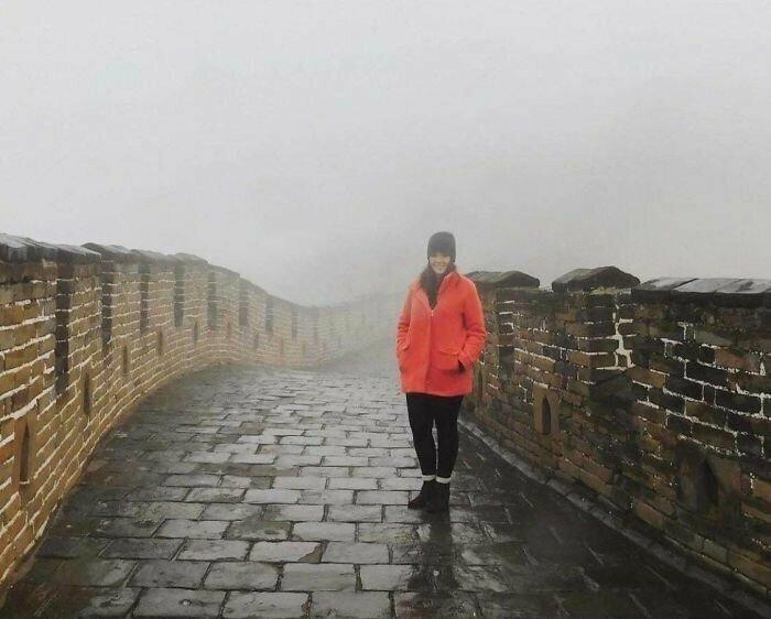 """""""Я летела 13 часов, чтобы посмотреть на Великую китайскую стену"""""""
