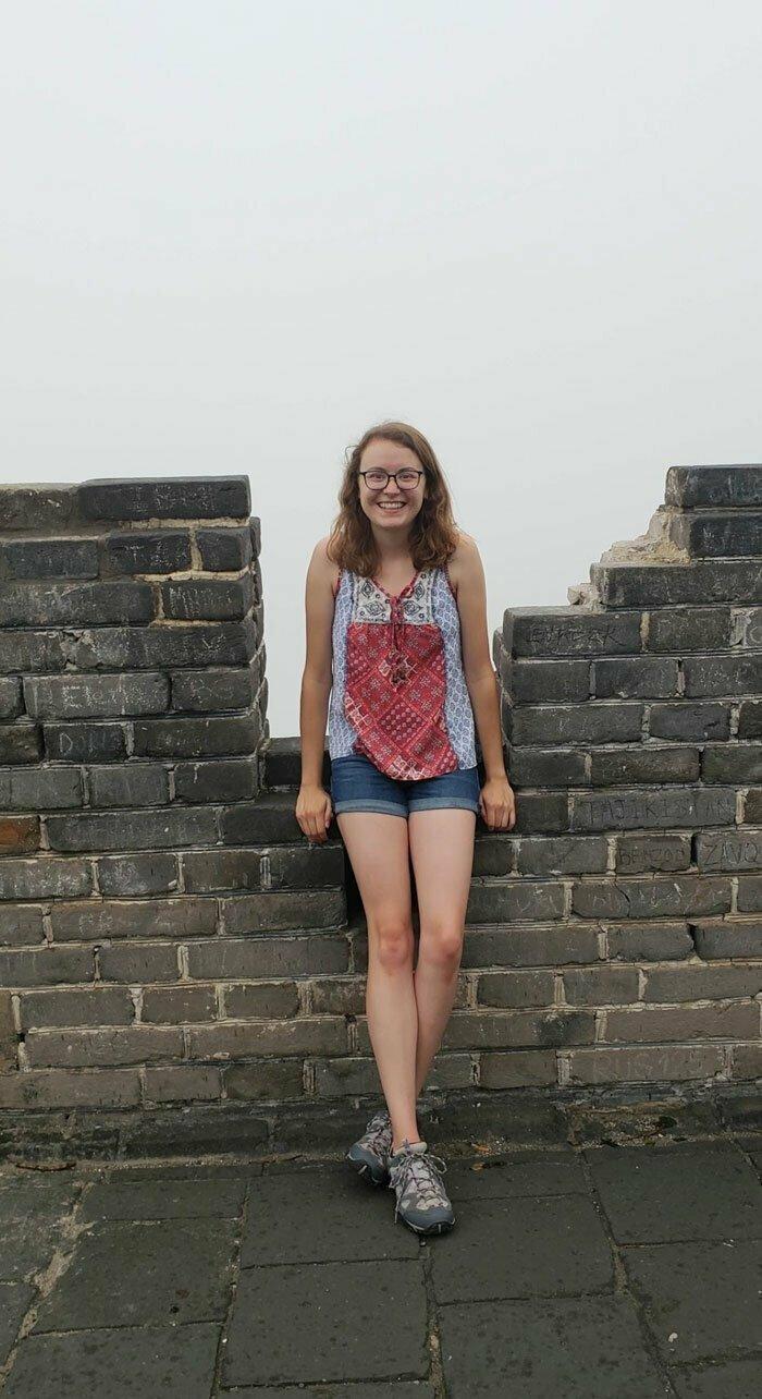 """""""Я долго планировала поездку в Китай, чтобы полюбоваться видом с Великой китайской стены. Что ж, вот он!"""""""