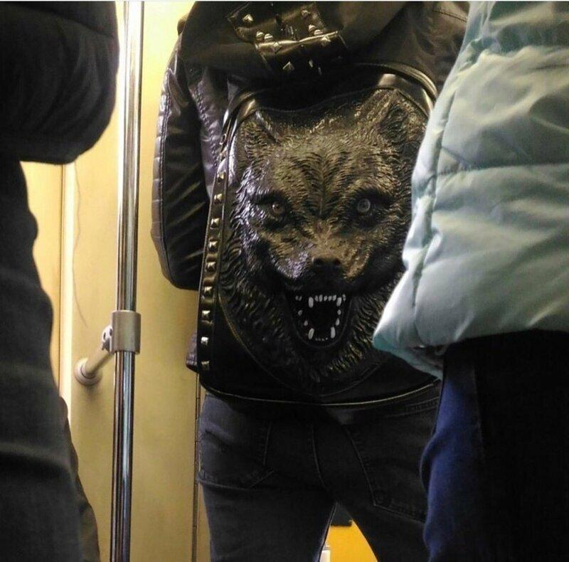 Не самый дружелюбный рюкзак