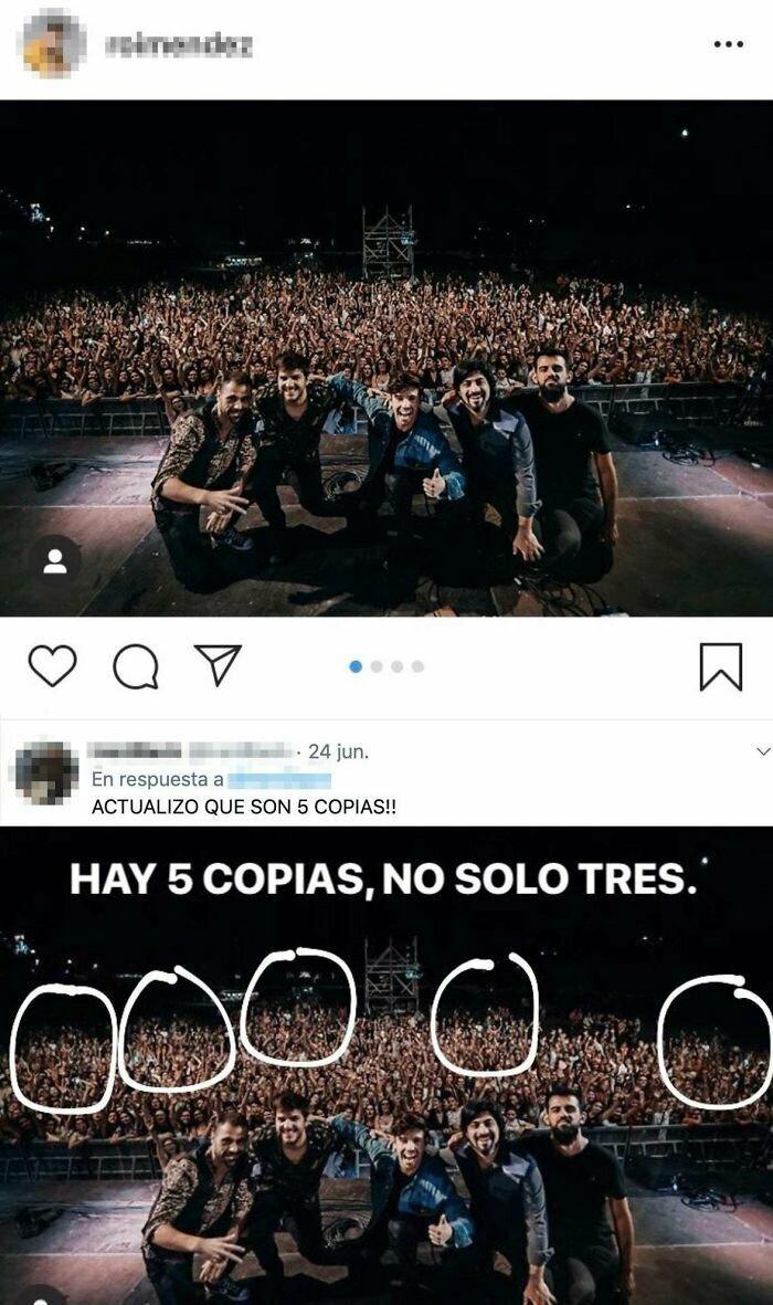 Что делать, если на твой концерт пришло мало народу? Конечно, 5 раз скопировать группу людей в зале. Теперь кажется, что зал битком!