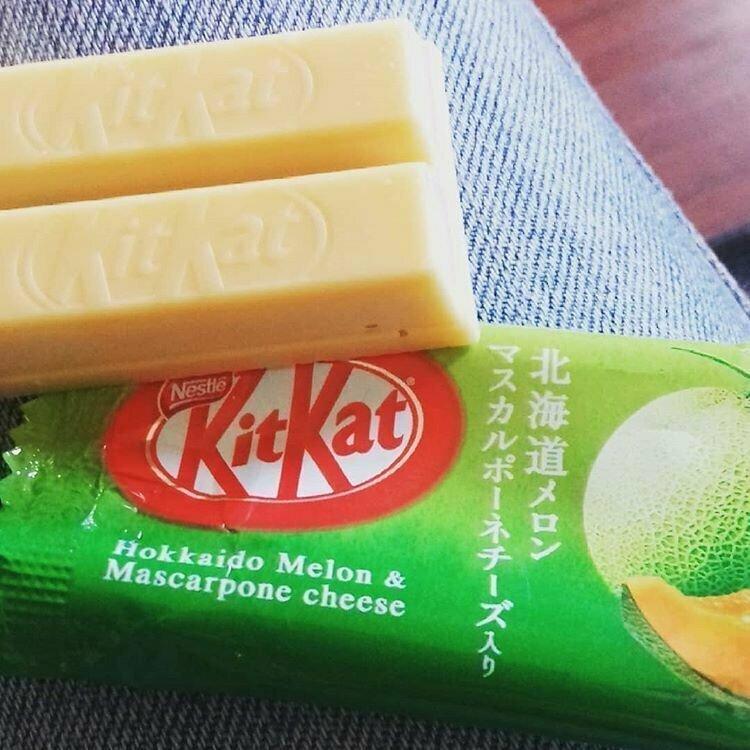Kitkat со вкусом дыни жизнь, подборка, странность, фотография, фотомир, явление, япония