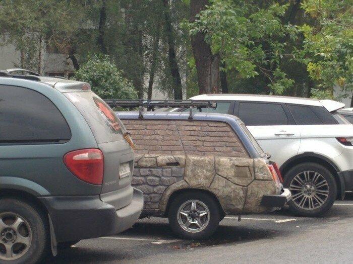 Тольяттинская классика - это сейчас основной автомобиль для экспериментов в России автомобиль, маразмы, машина, перебор, прикол, смех, тюнинг, юмор