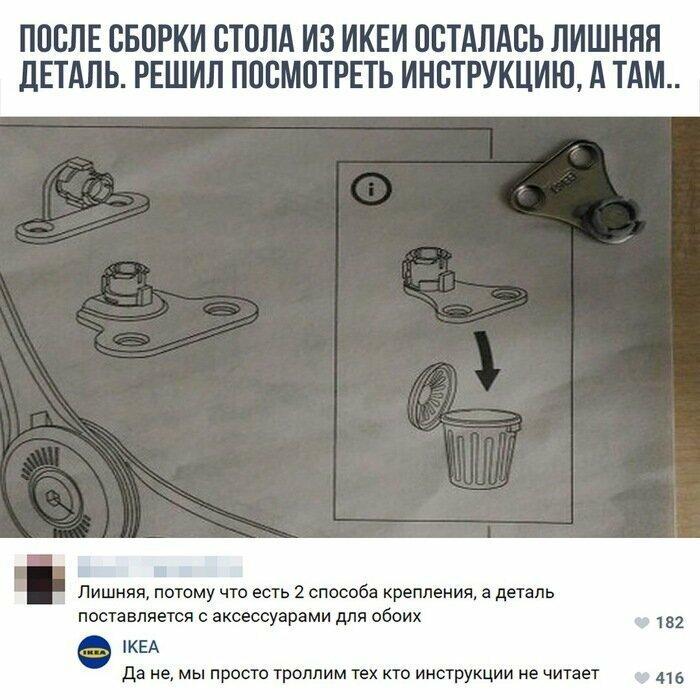 Инструкции по сборке