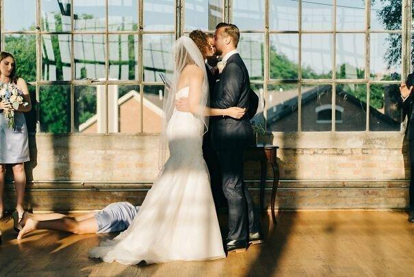 Свадьба – это слишком волнующее мероприятие