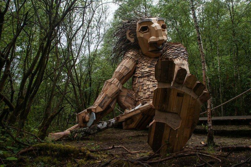 Тролли в лесу это уже не шутки