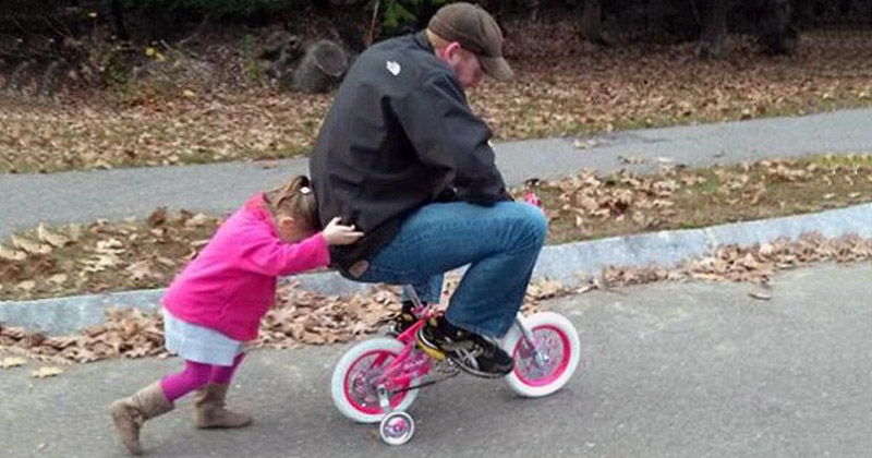 Воспитание детей - это тяжелая работа
