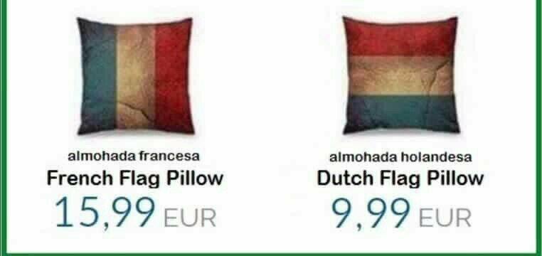 Французские флаги точно выше ценятся!