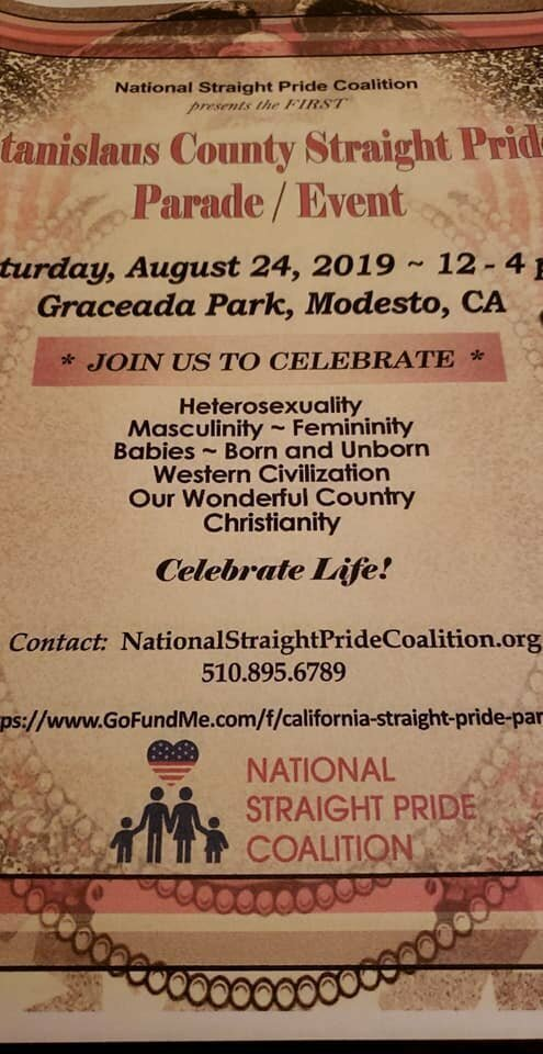 Активистам Калифорнии запретили проводить парад посвященный гетеросексуальности