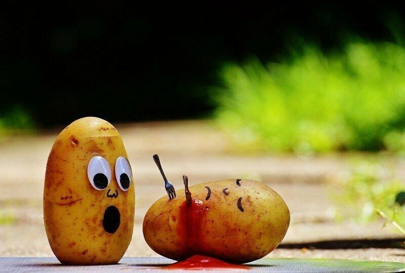 Картофельная зарисовка