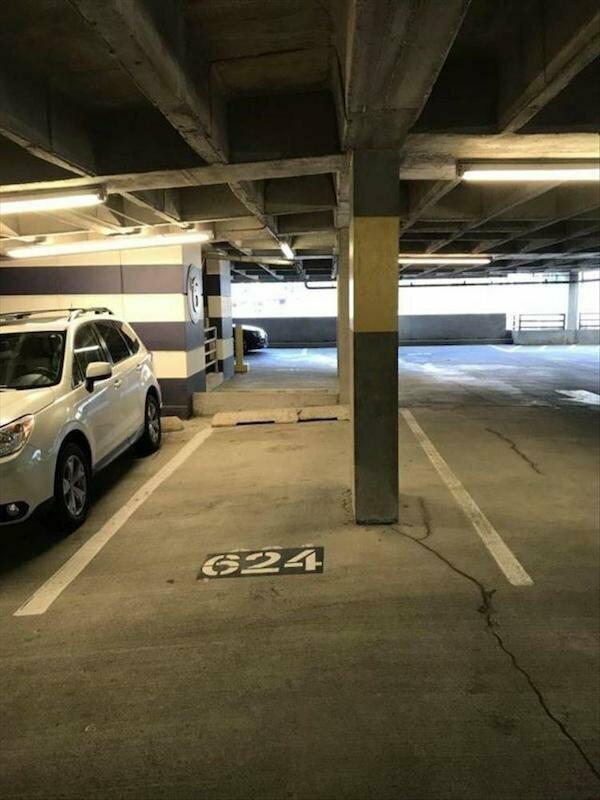 Парковочное место, которое всегда бывает пустым