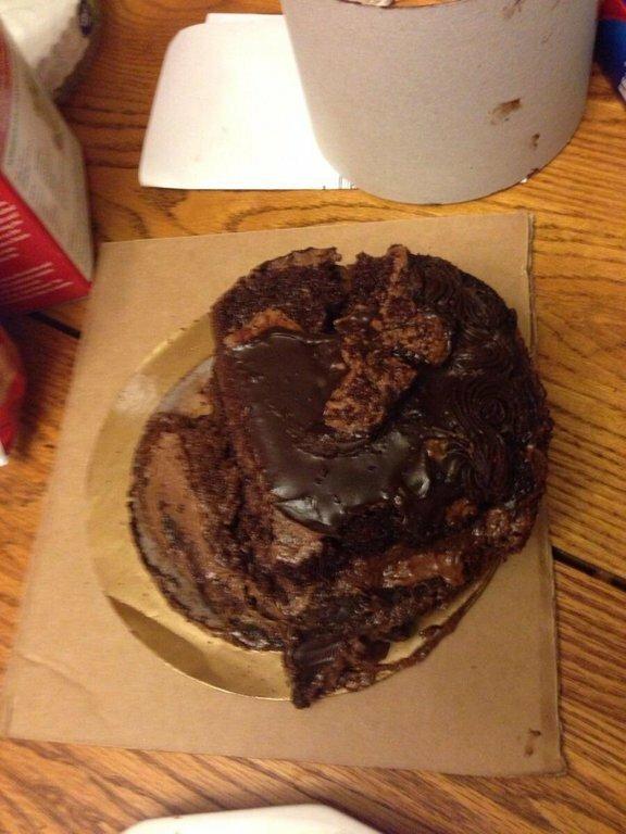 Спасибо за торт, доставка!