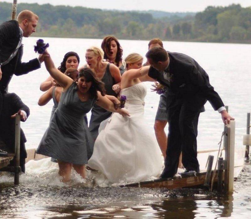 Плавающая свадьба