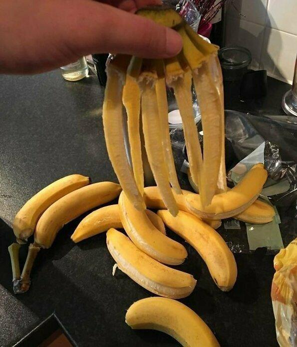 Сразу видно, что бананы зрелые