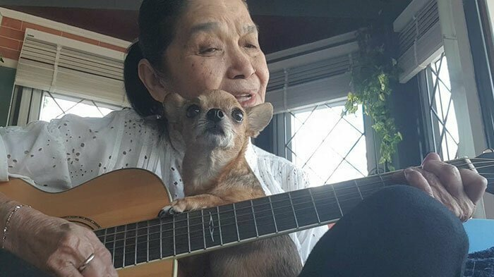 Пожилая тайская певица покоряет Youtube на пару со своим чихуахуа