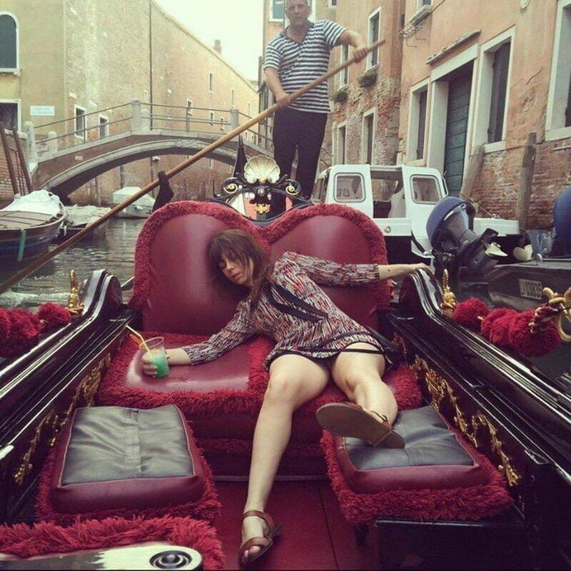 Она так хотела в Венецию