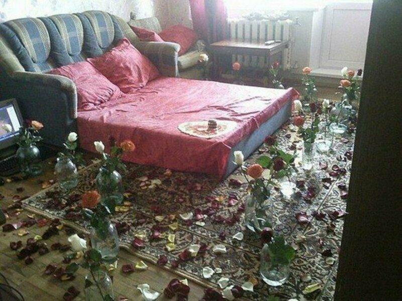 Уровень романтики, достигший критической точки