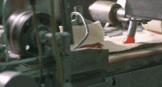 Залипательное производство в гифках