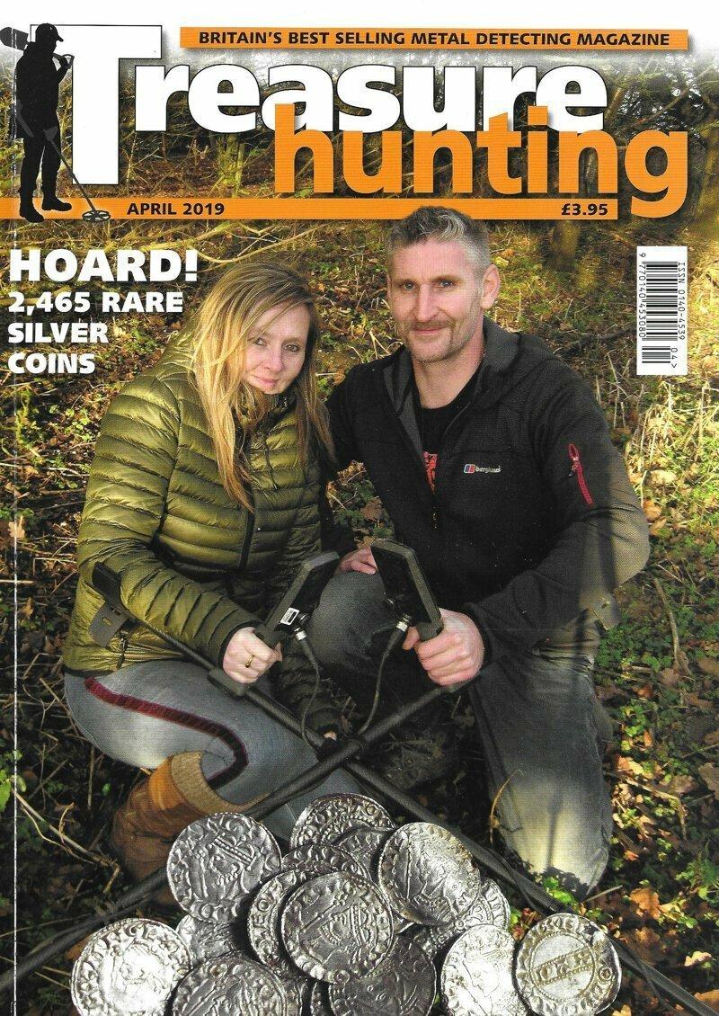 """Пара впервые рассказала о своей """"умопомрачительной"""" находке в интервью для журнала Treasure Hunting"""